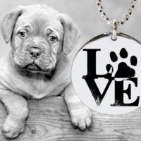Dog Necklace | Dog Jewelry | Dog Pendant | Dog Love | Korena Loves | KLSM