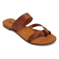 Women's Annette Cross Strap Slide Sandals