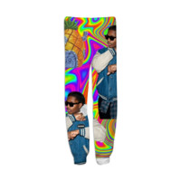 Colorful Trippy A$AP created by trilogy-anonymous | Print All Over Me