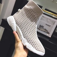 Dior High tube running shoes