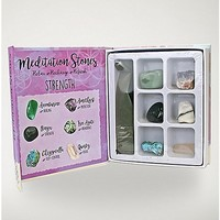 Strength Meditation Stones - Spencer's