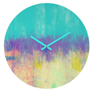 Allyson Johnson Celebration Round Clock