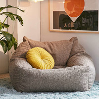 Cooper Faux Sheepskin Lounge Chair | Urban Outfitters