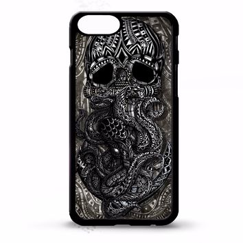 Pirate skull octopus kraken anchor nautical tattoo graphic art phone case cover