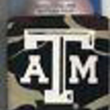 Texas A&M Aggies Koozie Camouflage Can Bottle Coolie Keeps Cans & Bottles Cold