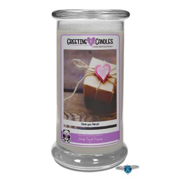 I Love You Niece | Jewelry Greeting Candle