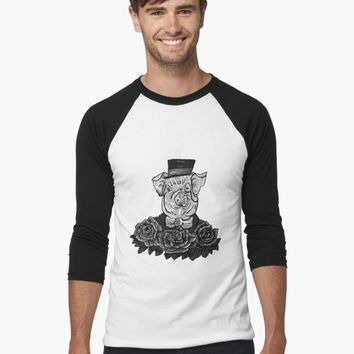 'Greyscale Sir Tattoo - Digital Art by Tumi, Art by Brian Fusaro' T-Shirt by MorganJoyce