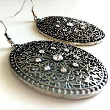 Antique Filigree Earrings
