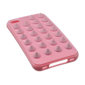 Tonal Pastel Pink studded iPhone 4/4S case by felonycase on Etsy