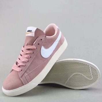 Wmns Nike Blazer Low Sd Fashion Casual Low-Top Shoes-3