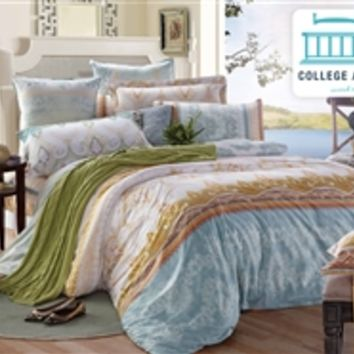Tropica Twin XL Comforter Set - College Ave Designer Series
