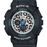 G-Shock Baby-G BA120LP-1A Ana-Digi Leopard Black Watch