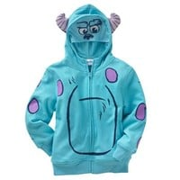 Disney/Pixar Monsters University Sulley Costume Hoodie - Boys 4-7