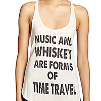 Haute Hippie - Music & Whiskey Tank Top - Saks Fifth Avenue Mobile