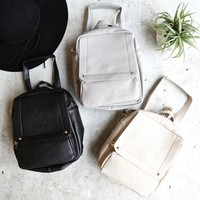 pebbled texture backpack - more colors