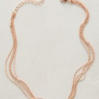 Rosegold Collar Necklace by Anthropologie in Rose Size: One Size Necklaces