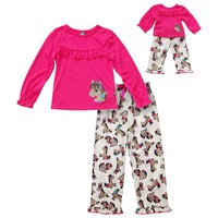Dollie & Me Pony Pajama Set - Girls