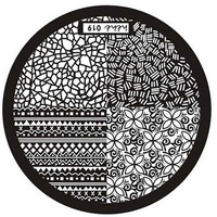Nail Art Image Stamp Stamping Plates Manicure Template 6616