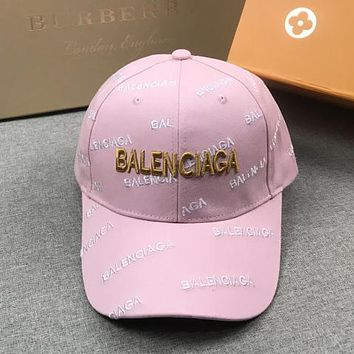 Balenciaga Fashion Embroidery Baseball Cap Hat