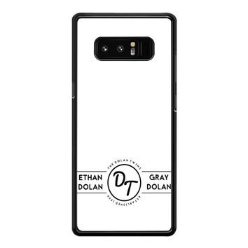 The Dolan Twins Samsung Galaxy Note 8 Case