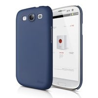 elago G5 Slim Fit Case for Verizon/AT&T/T-Mobile/Sprint Samsung Galaxy S3 - Eco Pack - Soft Feeling Jean Indigo