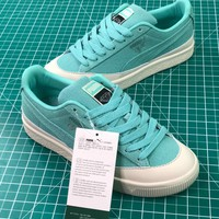 Diamond Supply Co. X Puma Clyde Green Women's Sneakers Shoes - Best Online Sale