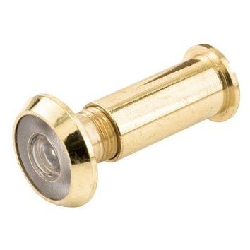 Slide-Co 15683 Door Viewer With 190 Degree Lens, Solid Brass
