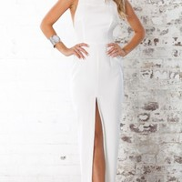 Envy maxi dress in white | SHOWPO Fashion Online Shopping