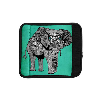 "Pom Graphic Design ""Elephant of Namibia Color"" Luggage Handle Wrap"