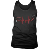 "Limited Edition - ""EMS Nurse Doctor Love Pulse"" T Shirts/W"