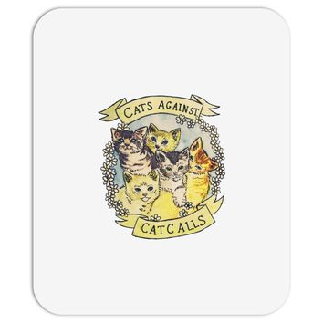cats against cat calls Mousepad