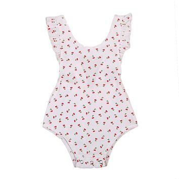 Newborn Infant Baby Girls Floral Cotton Romper new arrival fashion Jumpsuit Outfit Clothes