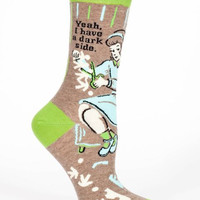 Yeah, I Have a Dark Side Women's Crew Socks
