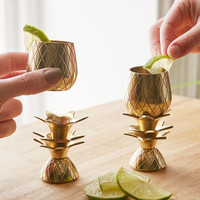 The Pineapple Co. Pineapple Shot Glasses Set | Urban Outfitters