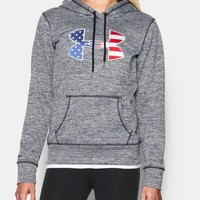 Women's UA Armour® Fleece Big Flag Logo Hoodie | Under Armour US