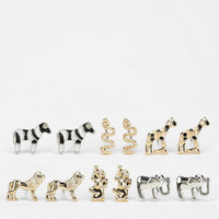Wild Safari Earring Set - Urban Outfitters