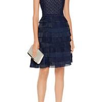 Sara Emanuel Pleated organza dress – 60% at THE OUTNET.COM