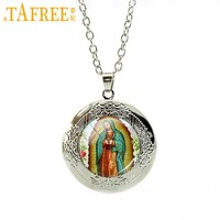 Lady of Guadalupe locket Necklace