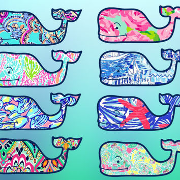 lilly pulitzer crown jewel sheet lilly pulitzer vineyard vines whale from redbubble stickerzz