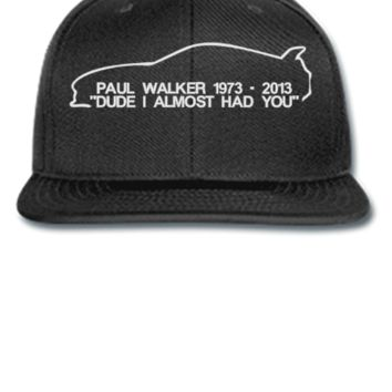 paul walker rip Beanie - Snapback Hat