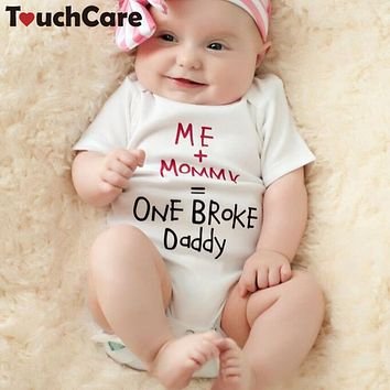 Short Sleeve Baby Boy Girl Romper