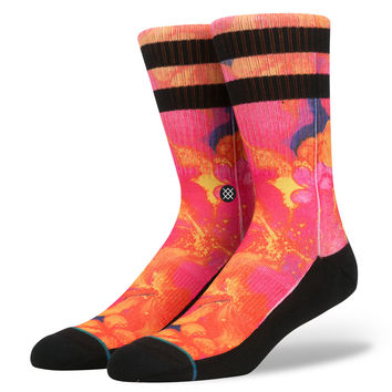 Stance Gutter Socks In Orange