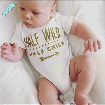 Newborn Baby Boys Girls Lovely Cute One-Piece Infant Rompers Playsuit Clothes Outfits
