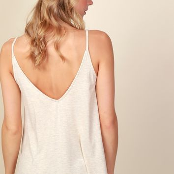 Too Good V-Neck Tank Oatmeal