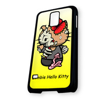Zombie Hello Kitty yellow Samsung Galaxy S5 Case