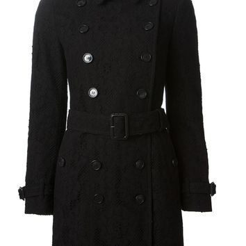 Burberry Brit lace trench coat