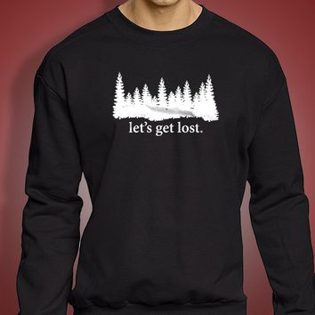Lets Get Lost Elliott Smith Lets Get Lost Suicide Awareness Suicide Prevention Men'S Sweatshirt