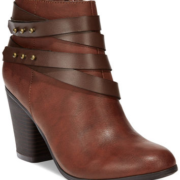 Material Girl Mini Strapped Booties