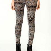 Belle Aztec Print Leggings