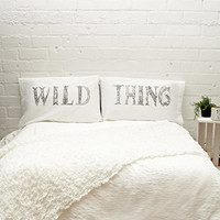 Rise and Fall Wild Thing Pillowcase Set